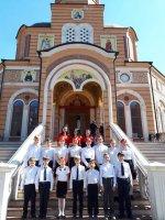 15 апреля 2018 года на приходе Благовещенского греческого храма состоялся Пасхальный концерт