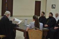 16 Июня 2018 года в Благовещенском греческом храме состоялось рабочее собрание духовенства Центрального благочиния.