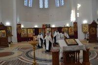 19 августа 2018 года, в день Преображения Господня, в Благовещенском греческом храме состоялась праздничная служба