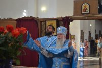 28 августа 2018 года в праздник Успения Пресвятой Богородицы, в Благовещенском греческом храме состоялась Божественная Литургия.
